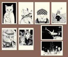 画像10: ますむらひろし初期作品 ポストカードADセット8種類 (10)