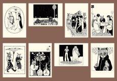 画像10: ますむらひろし青猫島 ポストカードAEセット8種類 (10)