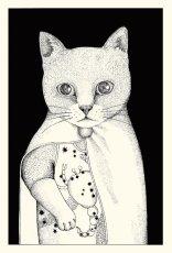 画像2: ますむらひろし初期作品 ポストカードADセット8種類 (2)