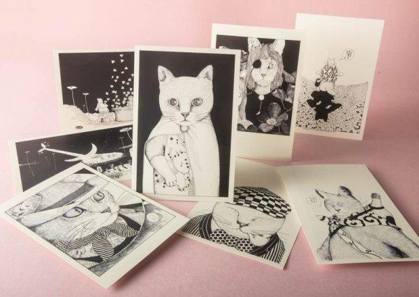画像1: ますむらひろし初期作品 ポストカードADセット8種類 (1)