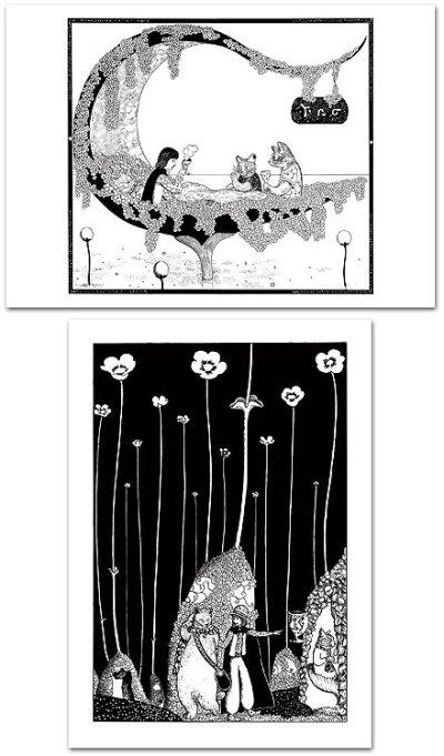 画像2: ますむらひろし初期モノクロ作品・ポスターセット